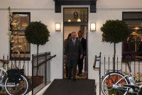 Prince Charles Visits 'The Prince's House' At The Ideal Home Show